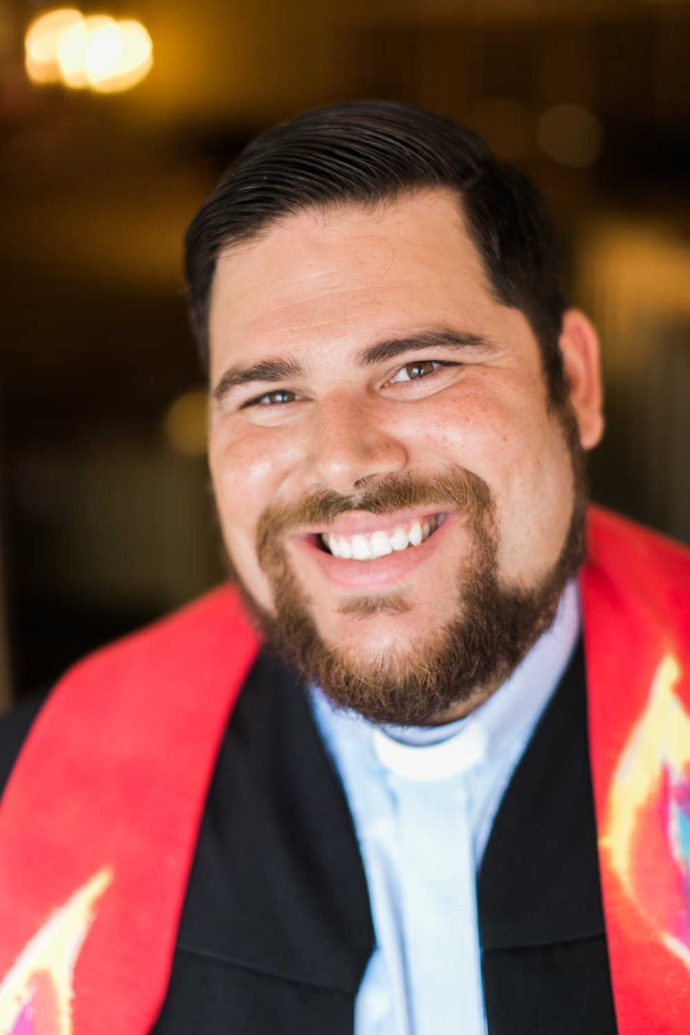 Rev. NathanLonsdale Bledsoe - loves Jesus, his wife Sarah, their two dogs, cooking, hunting, the city of Houston, trying new restaurants, and a lot of things he cannot fit in a short bio.Nathan grew up in Austin before moving to Houston to attend Rice University. After graduating, Nathan worked at St. Paul's United Methodist Church before attending Union Theological Seminary in the City of New York. While at Union, he served at the United Methodist Church of the Village, helped run a soup kitchen, and wrote a thesis project on theology and food. He believes when people gather to share a meal, Jesus Christ shows up (John 21).Nathan served as the pastor of missions and evangelism at St. Peter's UMC in Katy from 2013-2017. He currently serves as the Senior Pastor of St. Stephen's UMC (Houston TX), the President of the National Board of U.M. ARMY and on the Texas Annual Conference Committee on Unity.