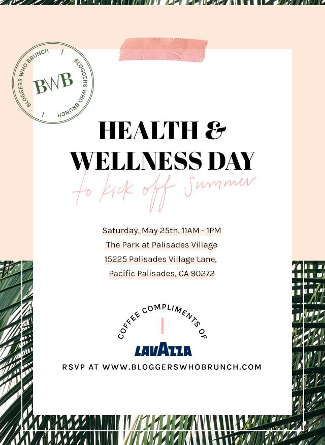 Health & Wellness Day Event