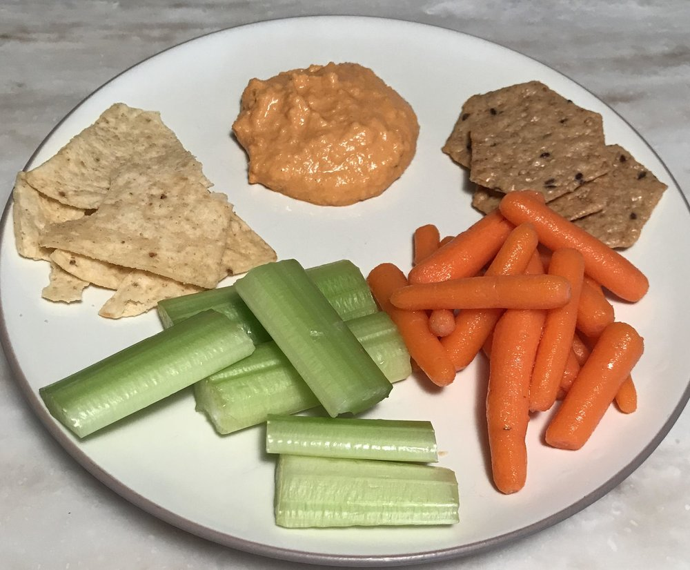 Roasted Red Pepper:  the sweet and vibrant flavor of this hummus pairs great with crackers, tortilla chips and your favorite vegetables. This adds a burst of flavor to your everyday sandwich, wrap or burger.