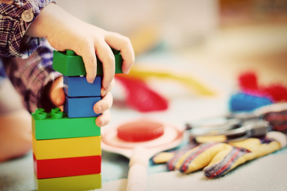 building blocks for a strong foundation in early childhood