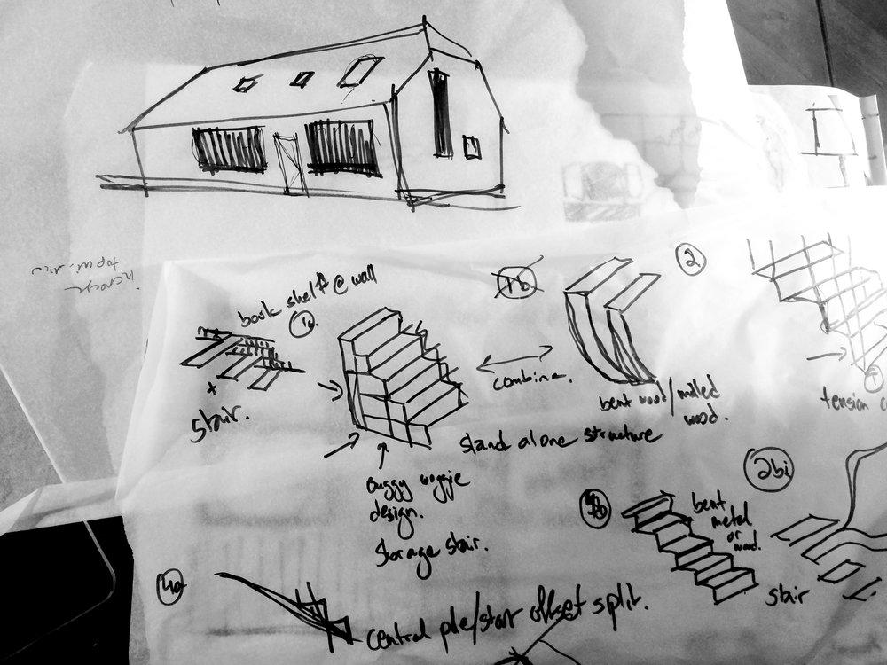 Work in progress sketches