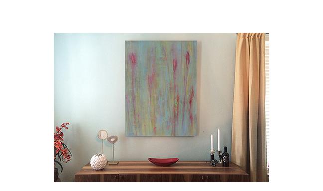 Abstract irises  Residence near Austin, TX.  ©KarenZilly