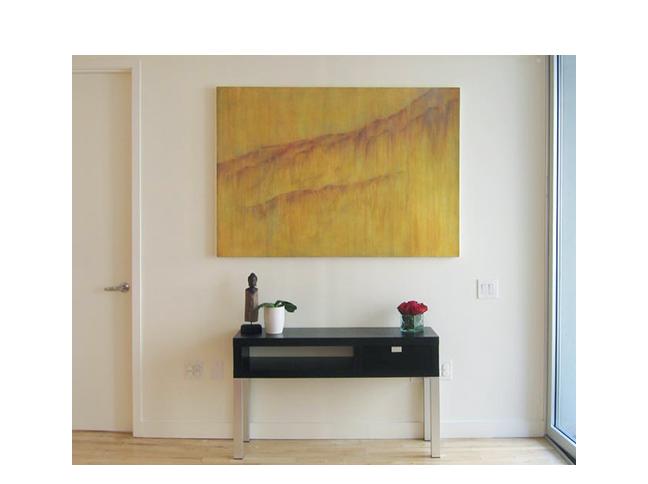 Custom painting  Residence in New York City, NY.  ©KarenZilly