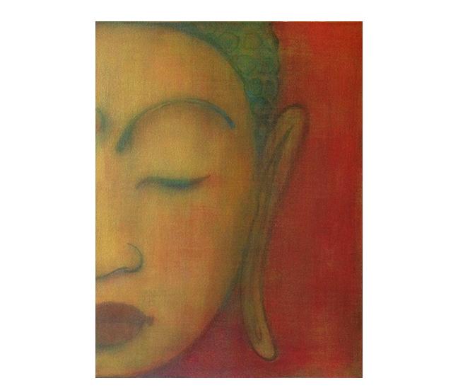 Buddha series   ©Karen Zilly  SOLD