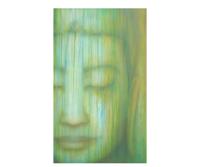 Buddha, Beauty  ©Karen Zilly   SOLD