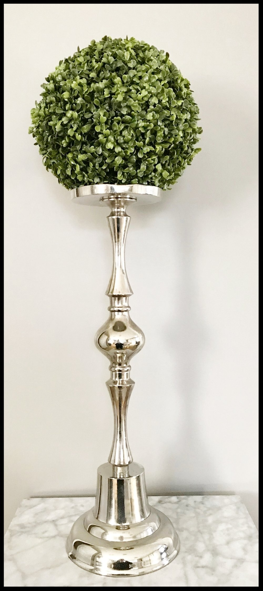 Classic Silver Candlestick