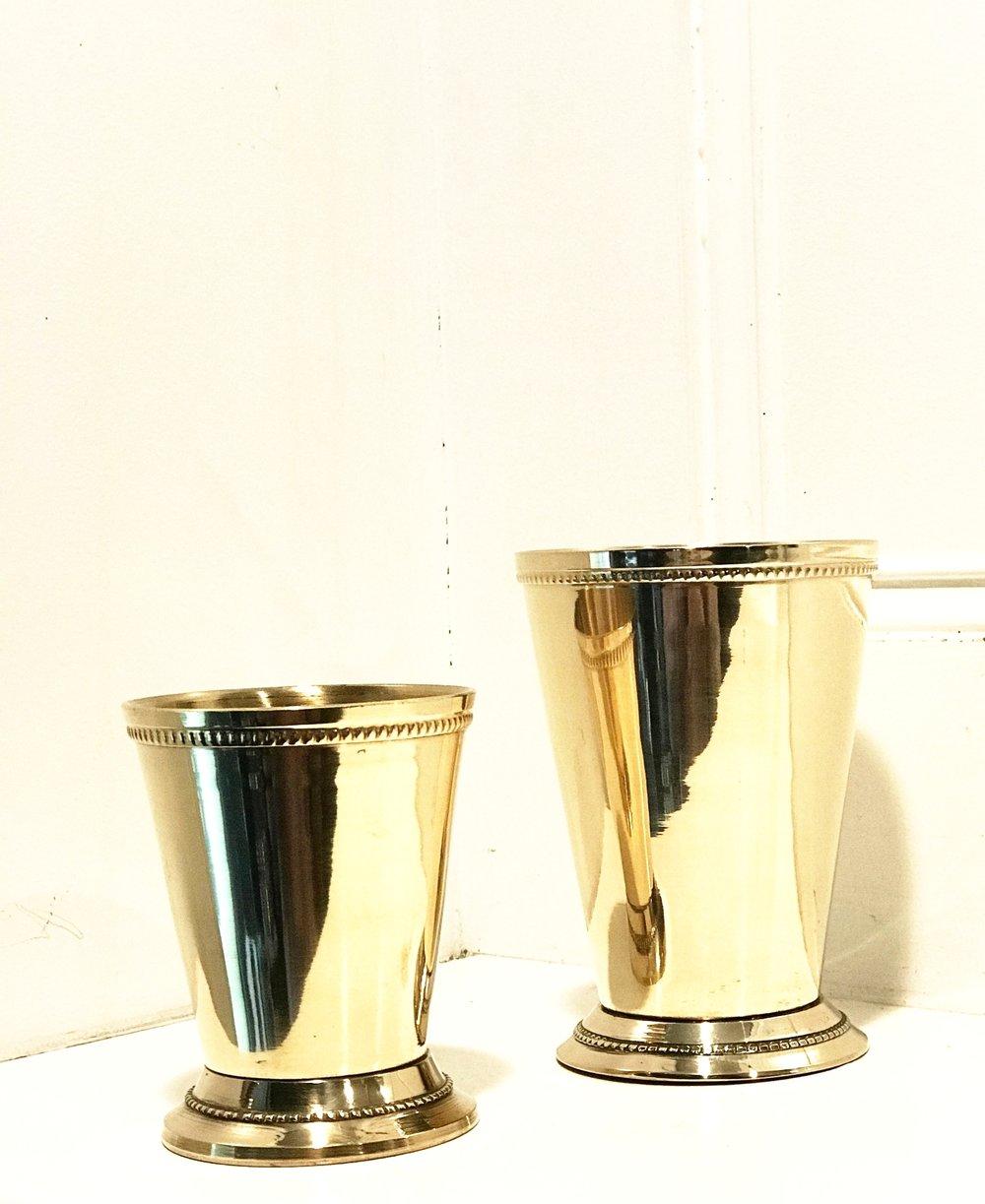 Brass Julep Cups