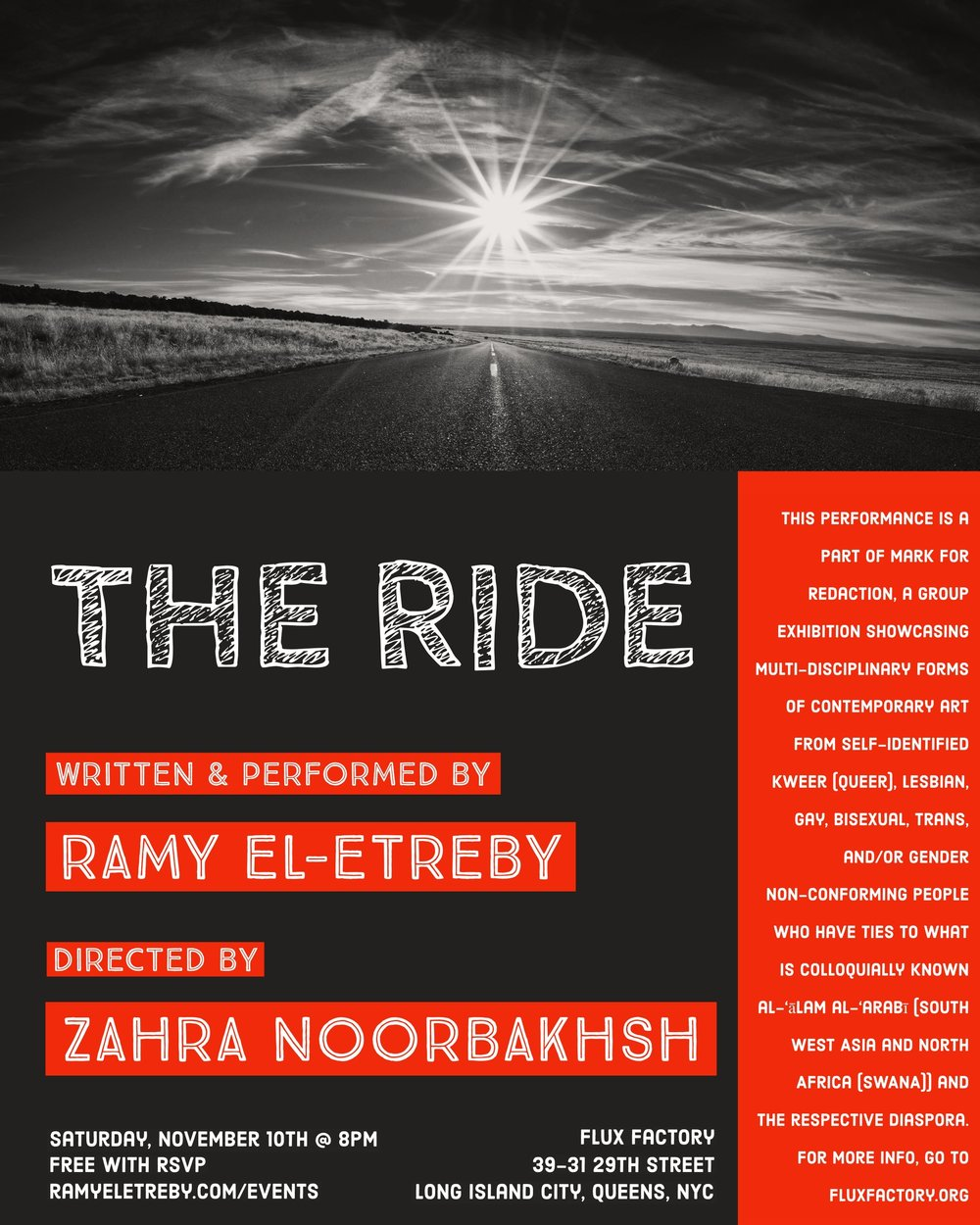 THE RIDE - FLUX FACTORY - 11.10.18