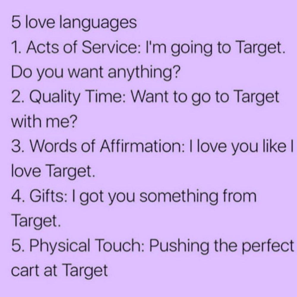 Target version LOL 💜   Source: Facebook
