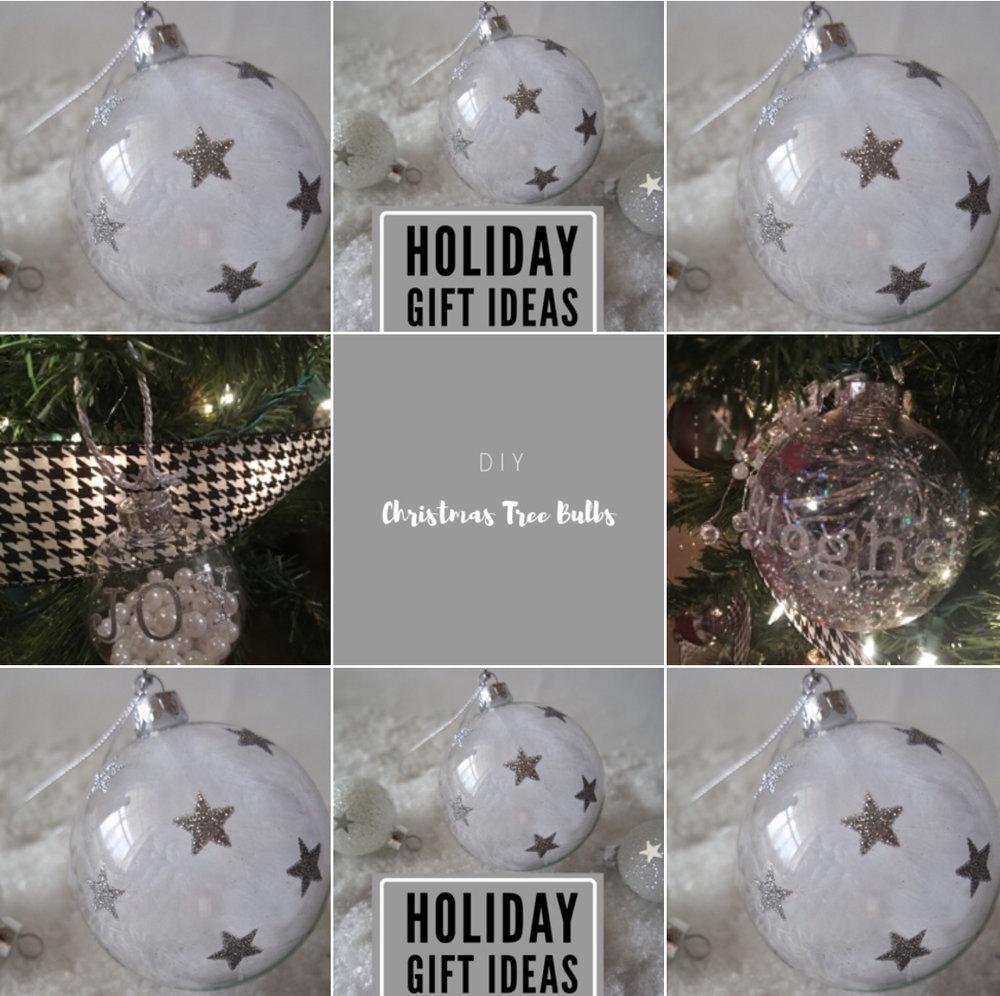 DIY Christmas Bulbs