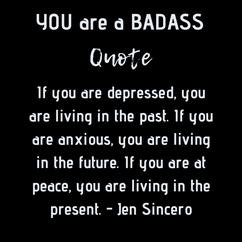You are a badass By: Jen Sincero #Quote