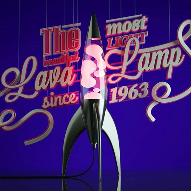 Obsessão por Lavalamps. Estudos. #3d #3dart #instart #instaarte #c4d #modo3d #fullcolor #lavalamp #mathmos #retro #retroart #ligth #lettering #3dletering #luminary