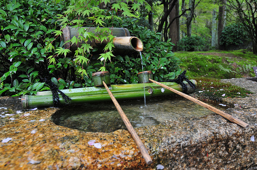 Every now and then a writer needs to take time to fill up the well. I'm going to take December and plan to visit this very well. Thanks to cleber for use of this image  Zen Garden - Ryoanji under Creative Commons.