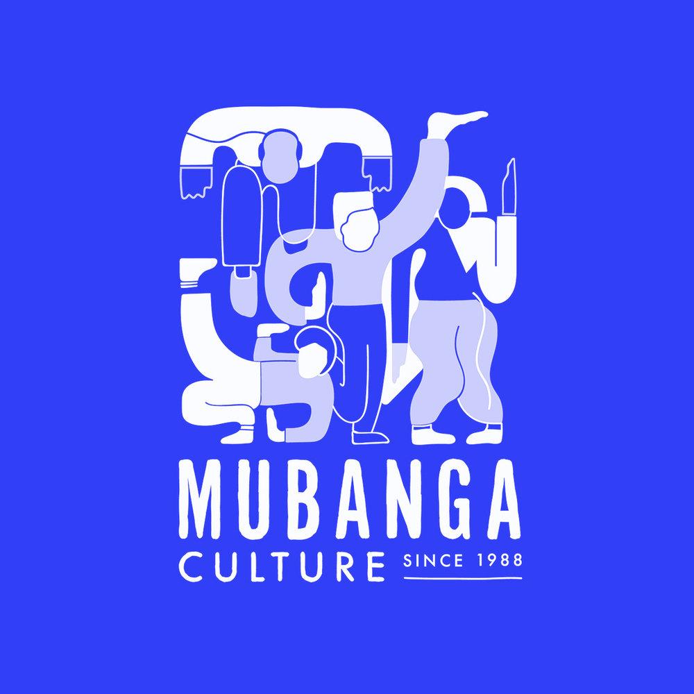 Mubanga Culture Dance Company    Logo Design, 2018