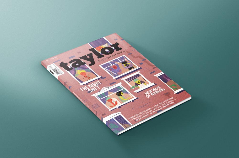 Graduate Work, CATC    'Taylor' Magazine, 2015