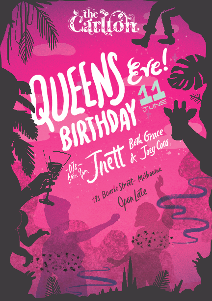 kimberly summer_queens birthday poster