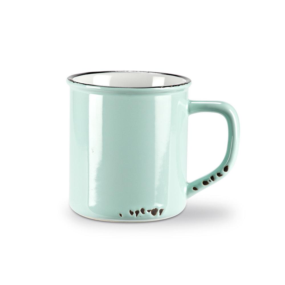 Enamel Mug Green $12