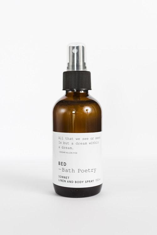 Bath Poetry Sonnet Linen & Body Spray $24