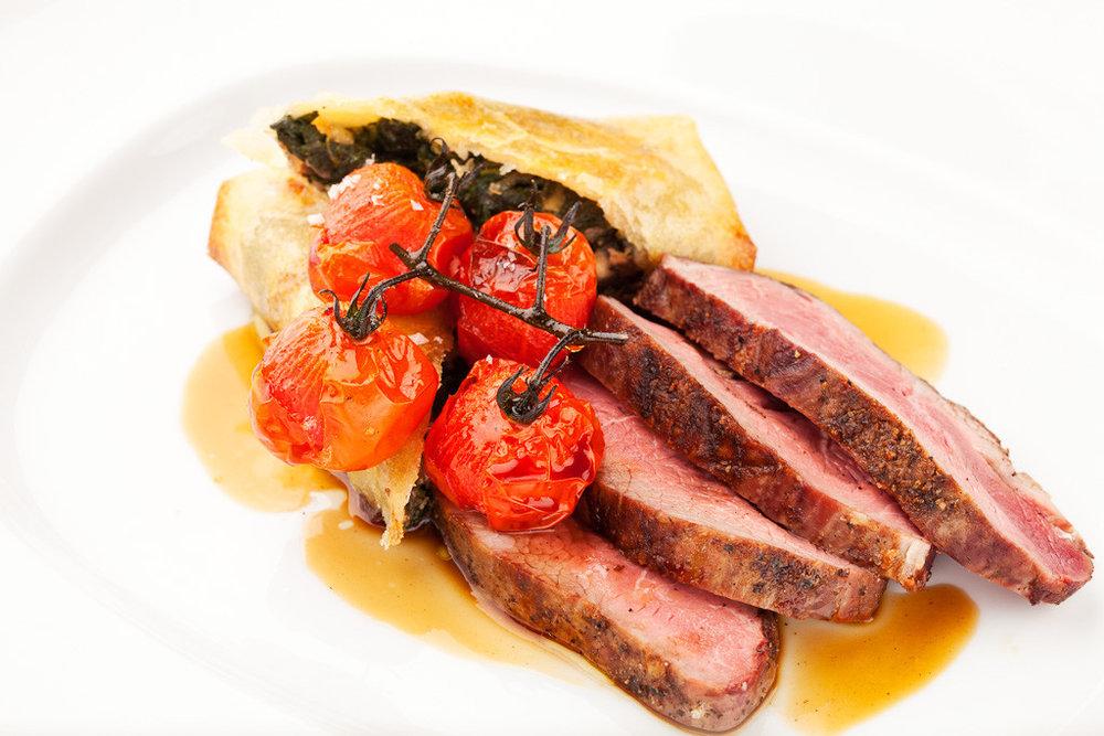 Lamb Rump.  Image courtesy of Woodland Kitchen & Bar.