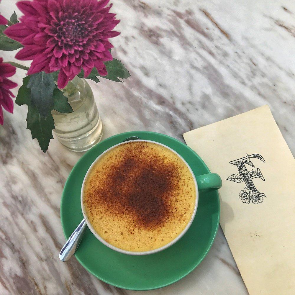 The Turmeric Latte