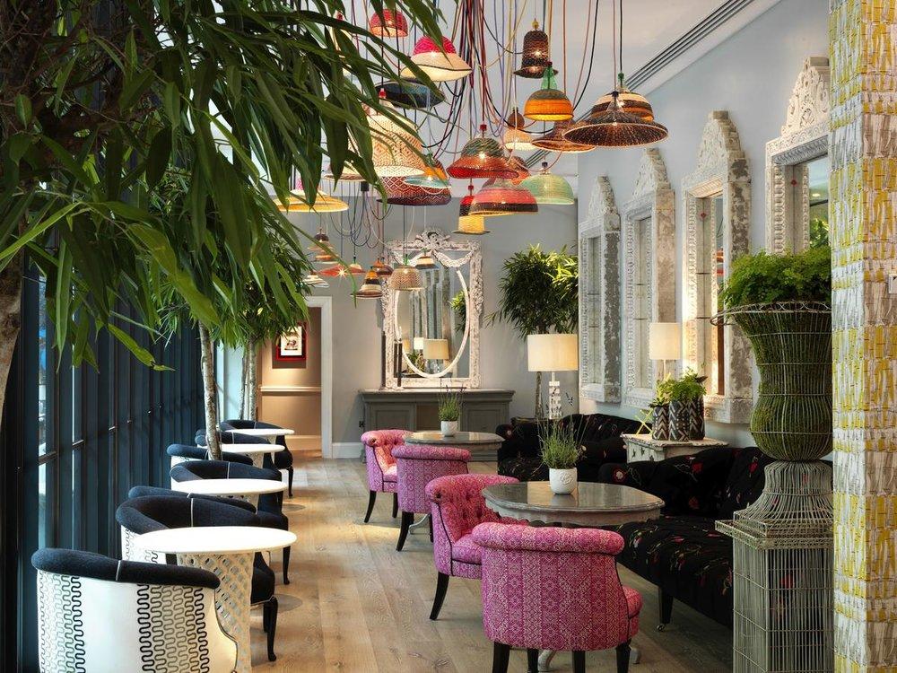 Image courtesy of Ham Yard Hotel