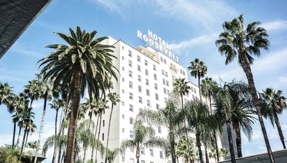 Image courtesy of the Hollywood Roosevelt Hotel.