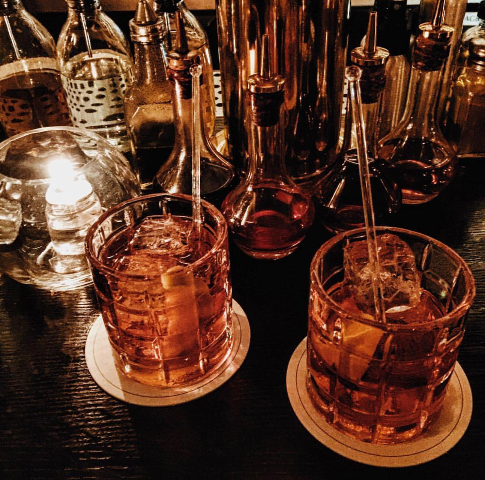 Above: Negronis from Caffe Dante, New York