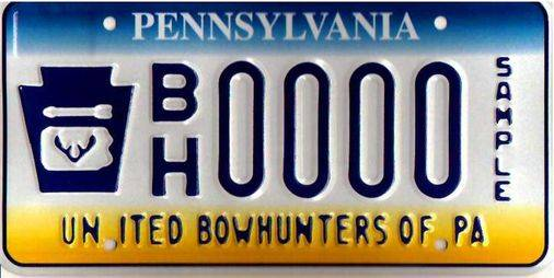 Official UBP License Plate -