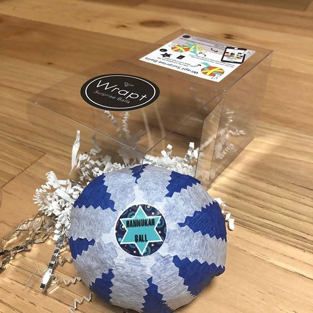 Running out of time to grab your #Hanukkah #surpriseballs before the season is over! Great last minute gift! Link to order in bio!