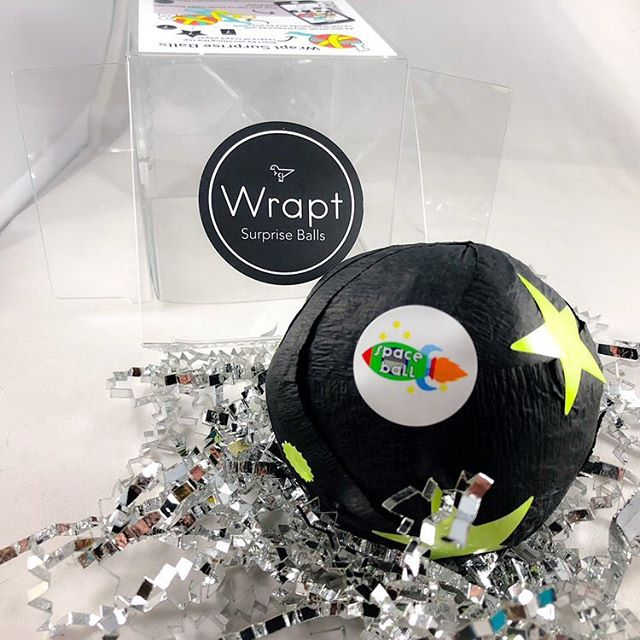 Shopping for adventure lovers?! Our #space #wraptsurpriseball is full of items to inspire the imagination and encourage a desire to reach for the stars! Shop fast as there are only 3 remaining!!!! #handmadegifts #kids Link to shop in bio