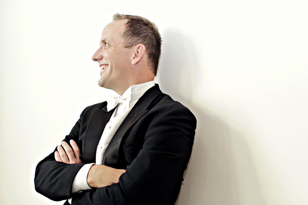 Scott Terrell, Music Director of the Lexington Philharmonic