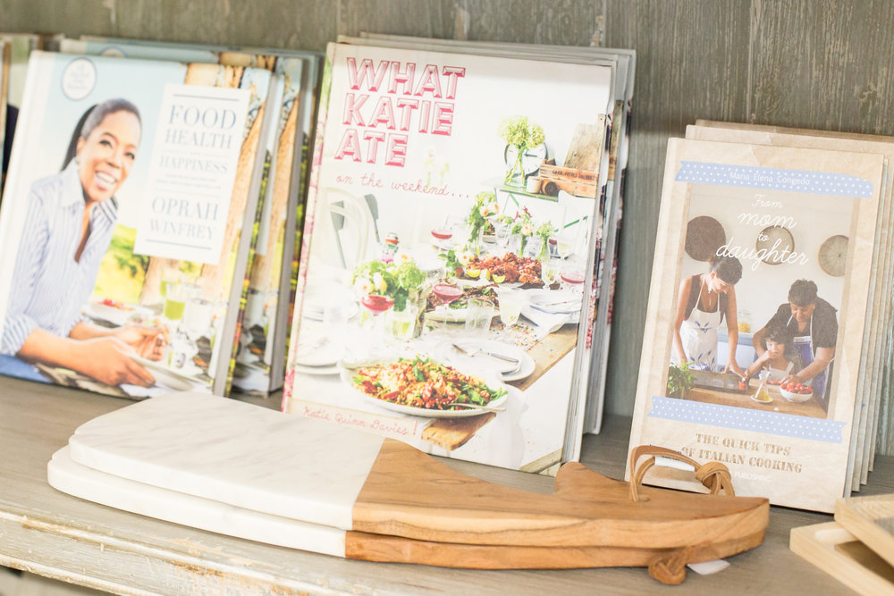 Bestselling design books and cookbooks