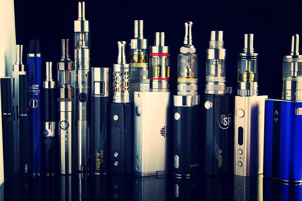 Vapes/Mod/E-Cigs - E-cig vaporizers are great for people are looking to quit smoking.  They are also great for people who want to smoke but are looking for an alternative that is healthier then smoking.   These vaporizers come in a range of sizes and shapes.  There are two major components, one part is the battery and the other part is the tank which holds the atomizer.  The vapor is created by heating up the E-juice in the tank.