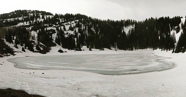 """""""I wonder if the snowlovesthe trees and fields, that it kisses them so gently? And then it covers them up snug, you know, with a white quilt; and perhaps it says, """"Go to sleep, darlings, till the summer comes again."""" - Lewis Carroll  #winter #mountains #Utah #desolationlake #travel #frozen #landscape #snow"""