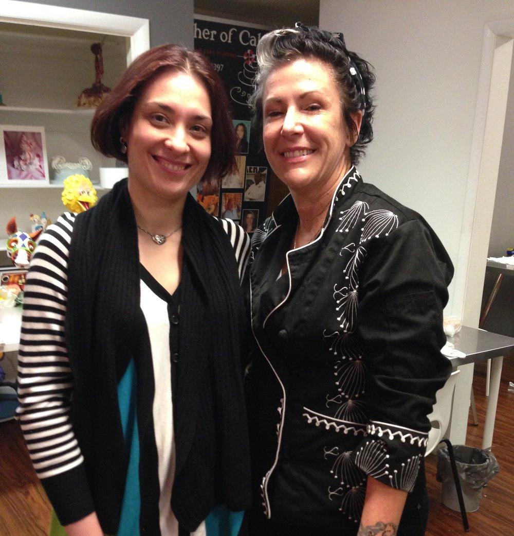 Karen Portaleo and Tatiana Kovalenko