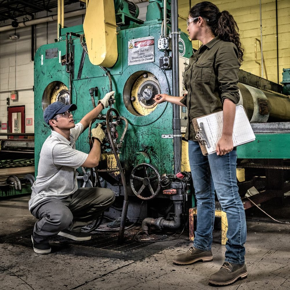 Women in Manufacturing Plant