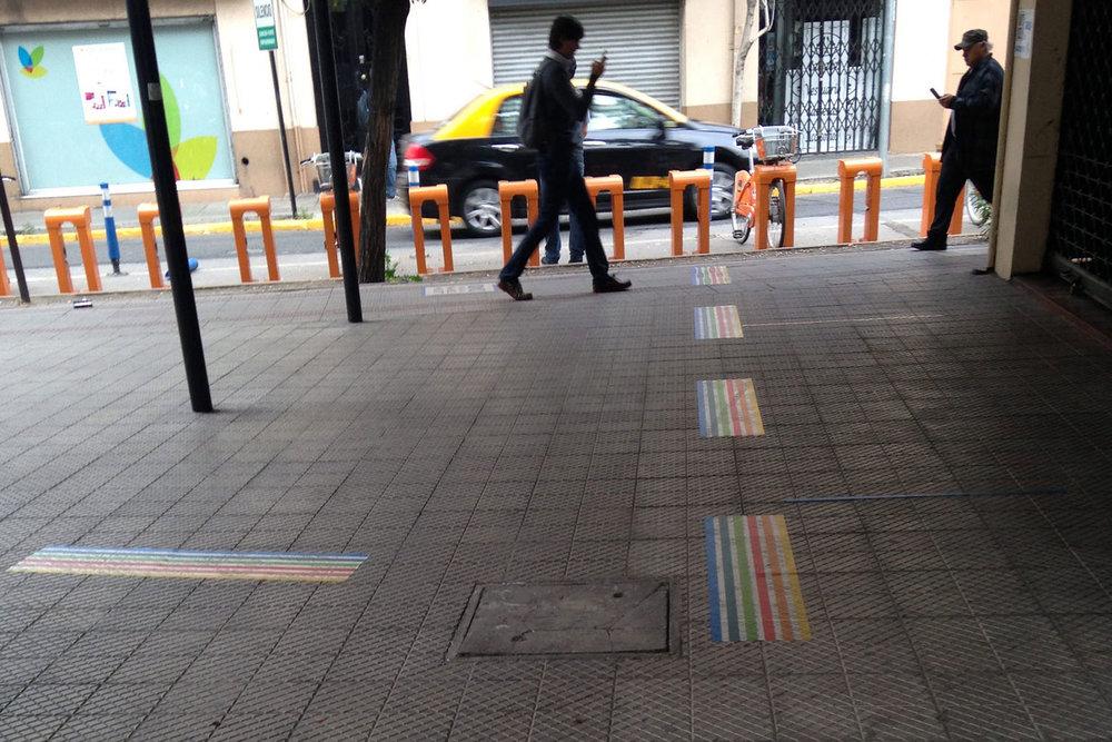 Sendero Táctico - Guiando rutas peatonales