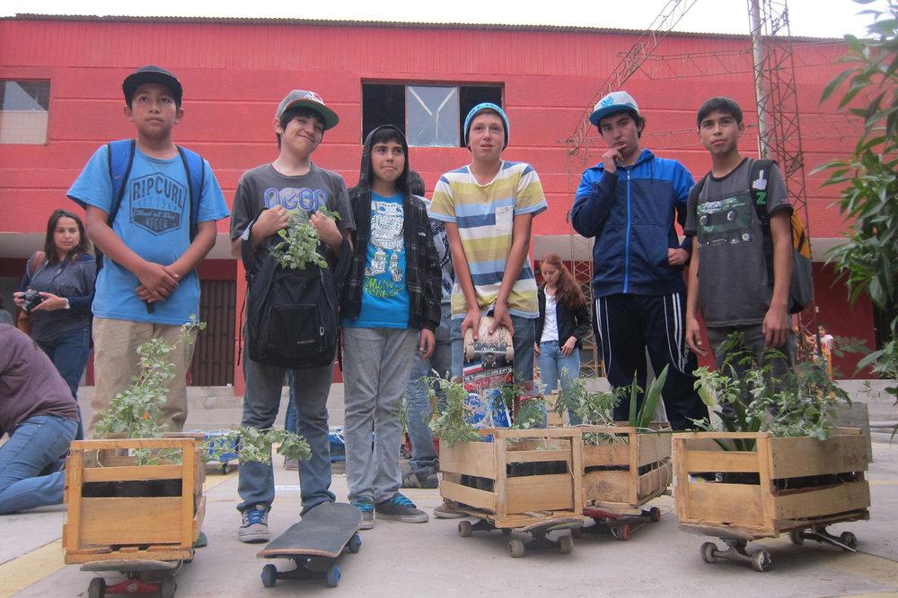 Planta tu Barrio - Cuidado de áreas verdes