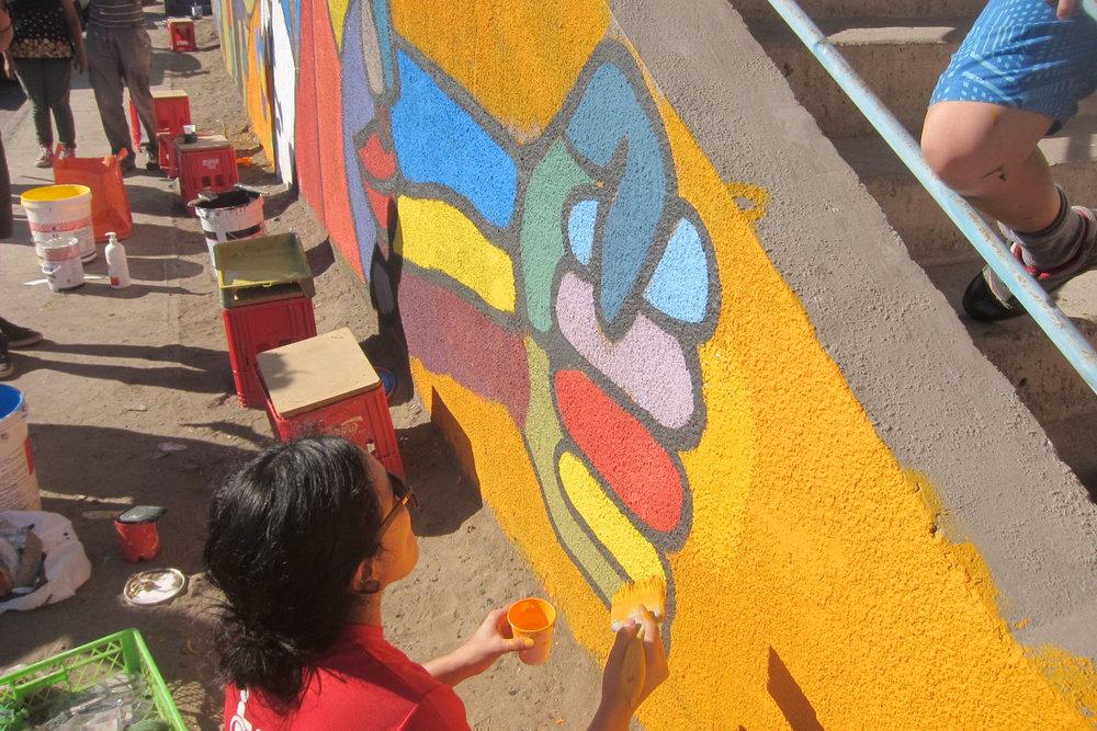 Tiempo de Pintar - Recuperando muros