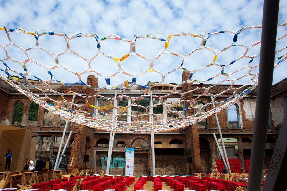 Intervención Basura - Recuperación participativa de un edificio histórico