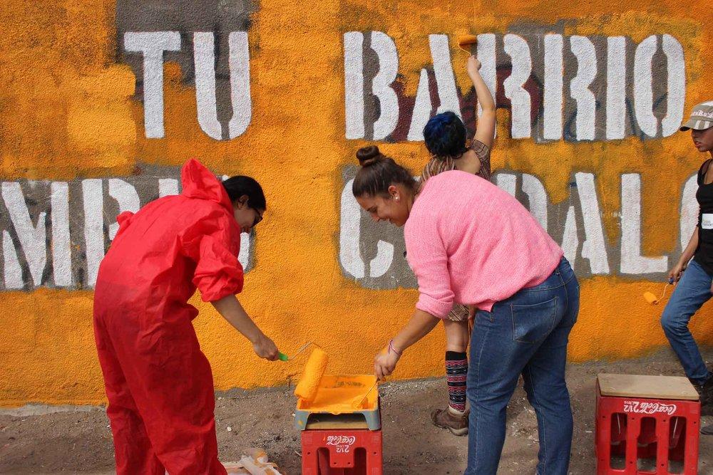 Conteo Comunitario - Siguiendo la pista a intervenciones urbanas
