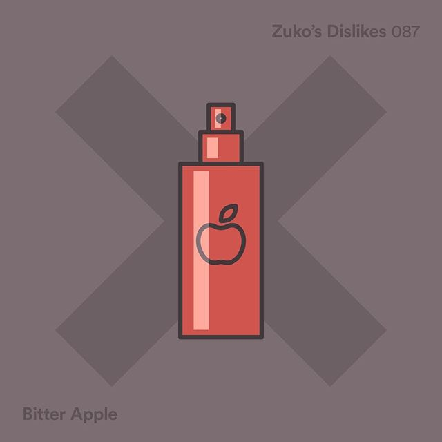 087 / Zuko's Dislikes - Bitter Apple Spray