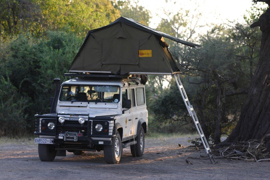 African Safari Experts expedition vehicle