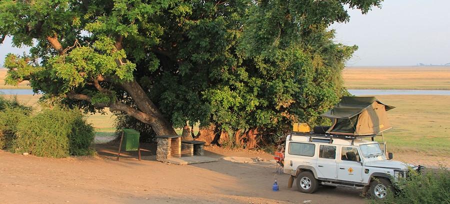 Katoyana campsite, Liuwa Plains