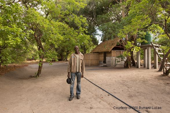 Kwale campsite, Liuwa Plains