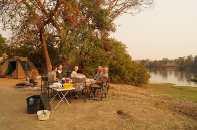 Camping in Kafue National Park