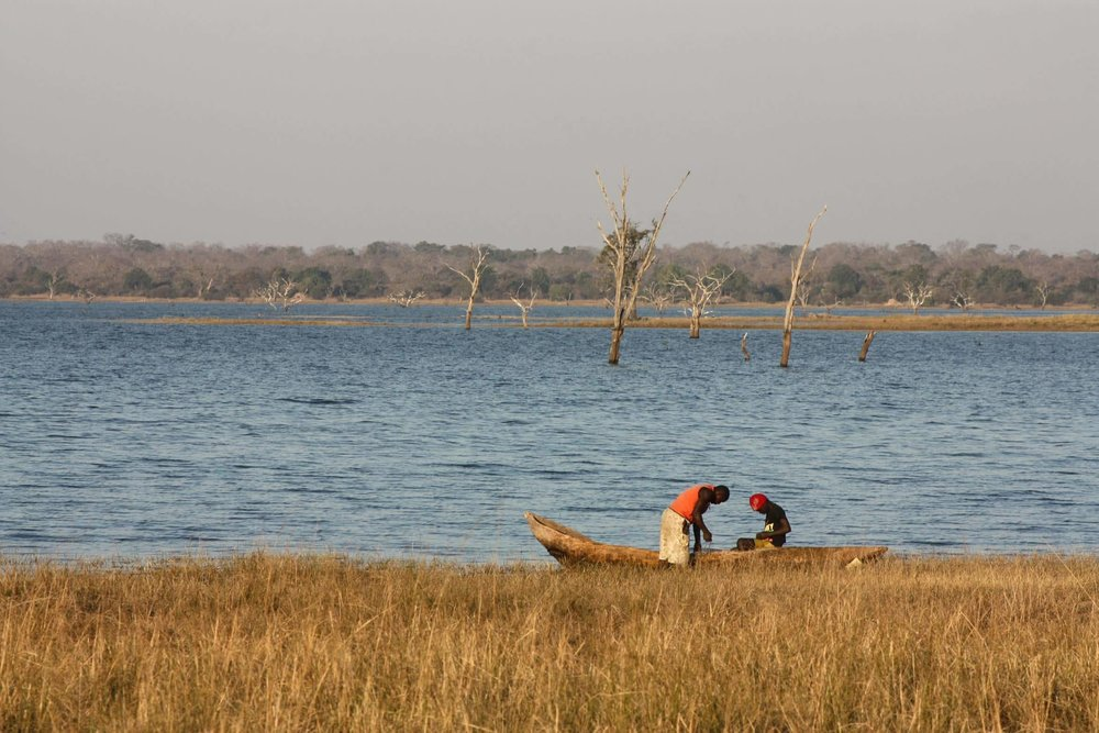 Fishermen, Lake Itezhi-Tezhi