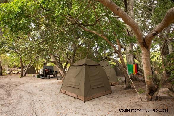 Sikale campsite, Liuwa Plains