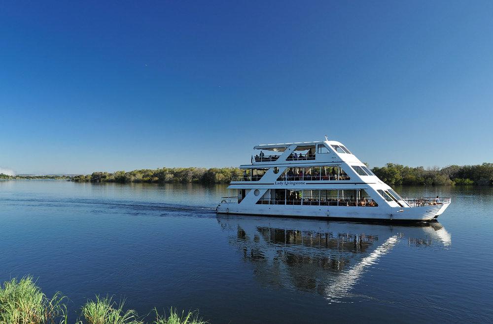 Zambezi River boat cruise