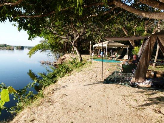 Namwi Island campsite